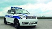 Suzuki Ignis, una volante tascabile e ibrida per le Forze dell'Ordine