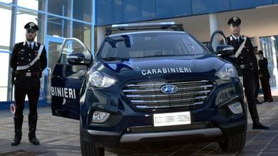 Hyundai ix35 Fuel Cell, il Suv a idrogeno per i Carabinieri