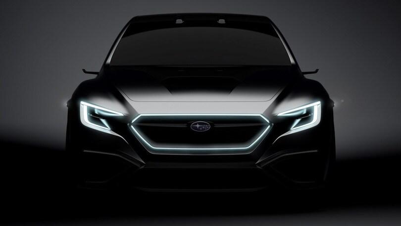 Subaru, a Tokyo la Viziv Performance con l'Eye Sight del futuro