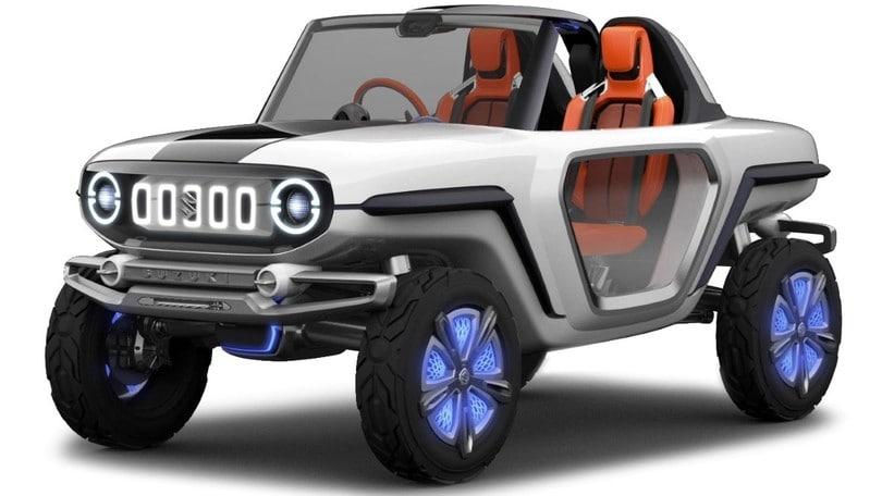 Suzuki e-Survivor, a Tokyo rilettura elettrica e futuristica del Jimny
