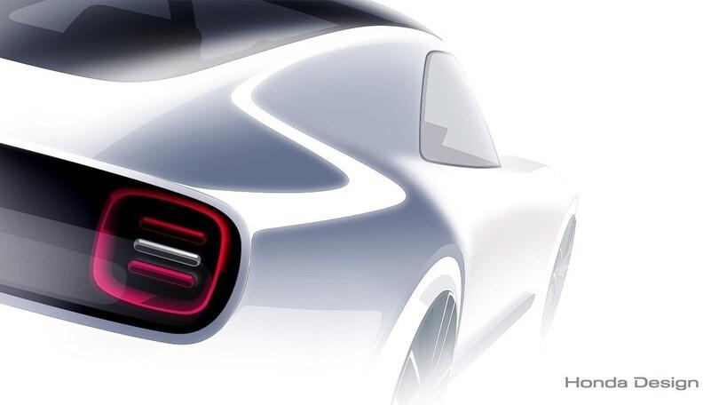 Honda al Salone di Tokyo con Sport EV Concept, coupé formato mini