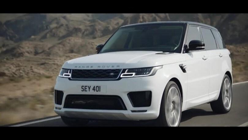 Range Rover Sport Hybrid 2018: lusso alla spina