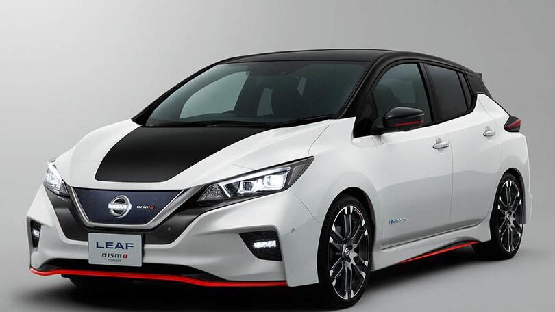 Nissan Leaf Nismo, scossa sportiva al Tokio Motor Show