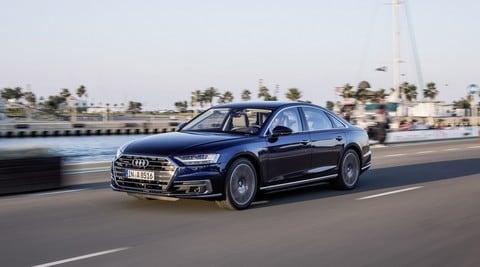 Audi A8, la quarta generazione