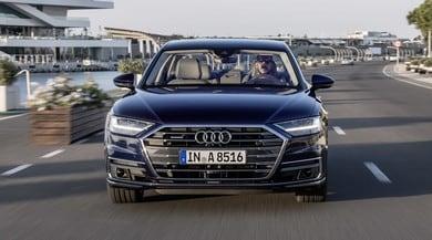 """Audi A8, primo contatto con l'ammiraglia """"troppo avanti"""""""