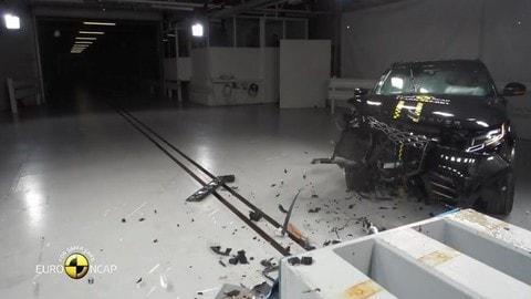 Ranger Rover Velar: 5 stelle nei crash test EuroNcap