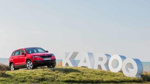 Skoda Karoq, primo test su strada