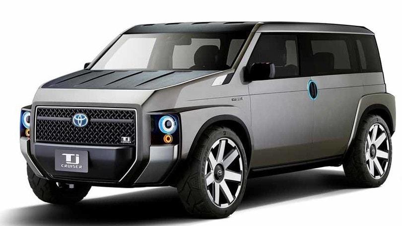 Toyota Tj Cruiser Concept, un po' furgone un po' SUV