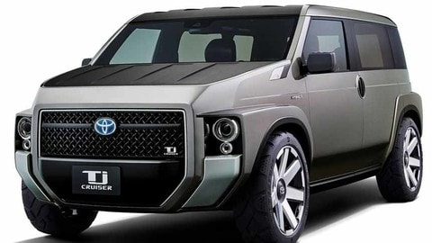 Toyota Tj Cruiser Concept, SUV o furgone?
