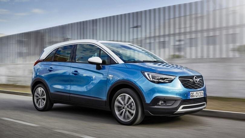 Opel Crossland X, arriva la versione Gpl Tech