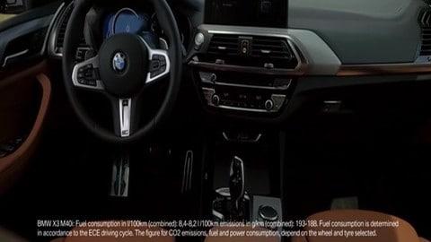 Nuova BMW X3 su strada