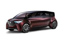Toyota Fine-Comfort Ride concept, spazio in formato idrogeno