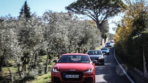Audi Sport, in strada e in pista con RS 3, TT RS e RS 5