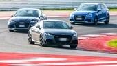 Audi RS3, TT RS e RS5: un'irresistibile carica di cavalleria