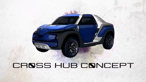 Yamaha Cross Hub Concept, il pick-up del diapason