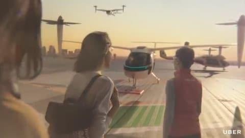 UberAir, il ride sharing spicca il volo