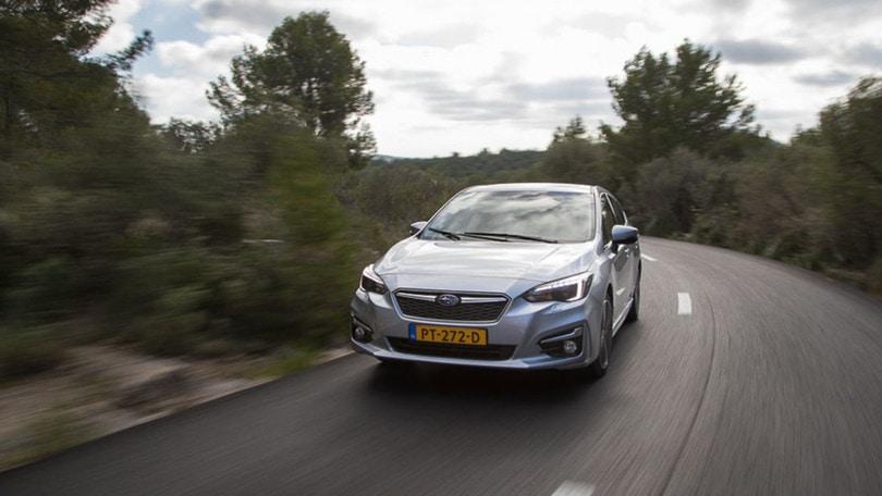 Subaru Impreza, meno rally e più famiglia: la prova della quinta generazione