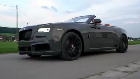 Rolls Royce Dawn, la visione di Spofec è Overdose
