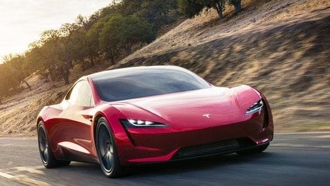 Tesla Roadster, 400 km/h di velocità: foto
