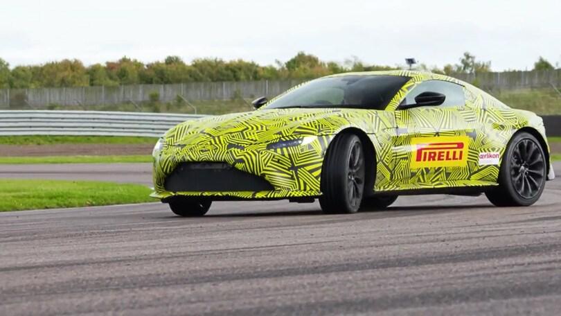 Aston Martin, Verstappen anticipa la nuova Vantage