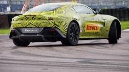 Nuova Aston Martin Vantage, meno peso e più cavalli