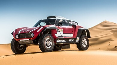 Mini JCW Buggy, una belva da 340 cv per la Dakar