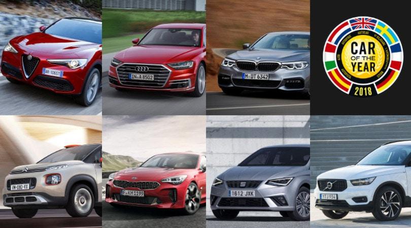 Auto dell'Anno: le sette finaliste dell'edizione 2018