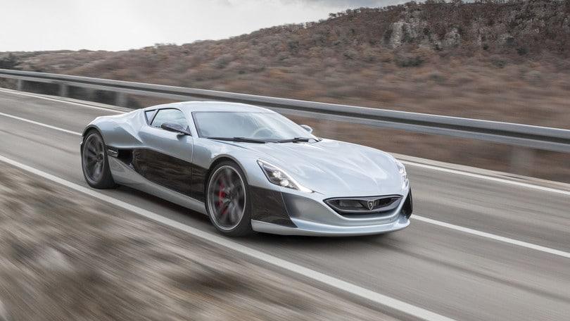 Rimac... sfida veloce a Tesla Roadster