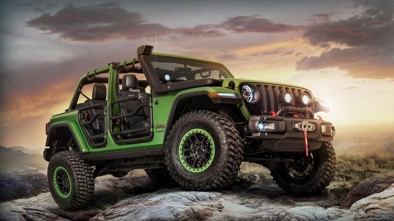 Jeep Wrangler, senza limiti con Mopar