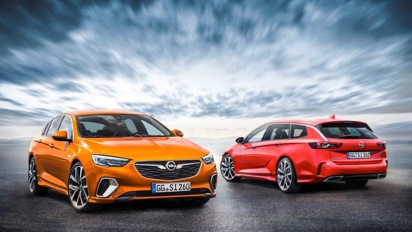 Schemi Elettrici Opel Insignia : Opel gsi all insignia della sportività i prezzi di berlina e