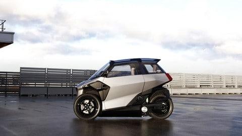 Eu-Live Concept, ibrido auto-scooter: foto