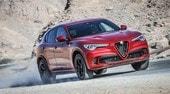 Alfa Romeo Stelvio Quadrifoglio svetta anche a Dubai: la prova