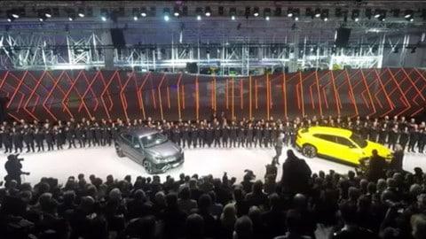 Lamborghini Urus, l'anteprima mondiale a Sant'Agata