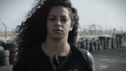 Noor Daoud, la prima donna drifter del Medioriente