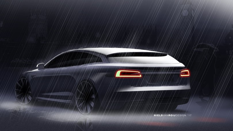 Transformer Tesla: la Model S diventa shooting brake