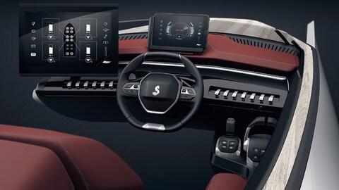 Sea Dive Concept, l'i-Cockpit a bordo con Peugeot
