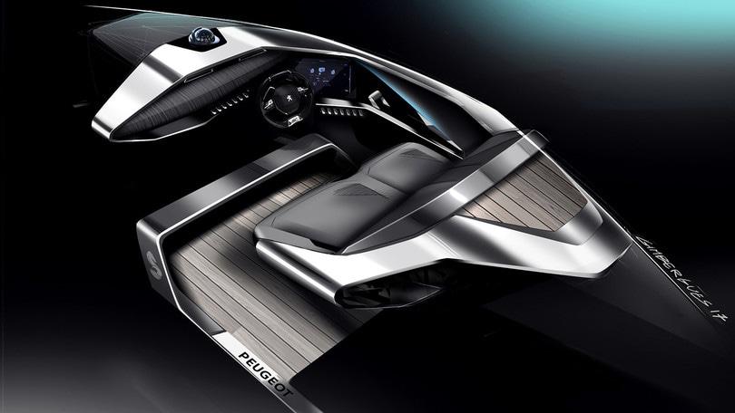 Sea Drive Concept: Peugeot salpa verso nuovi lidi