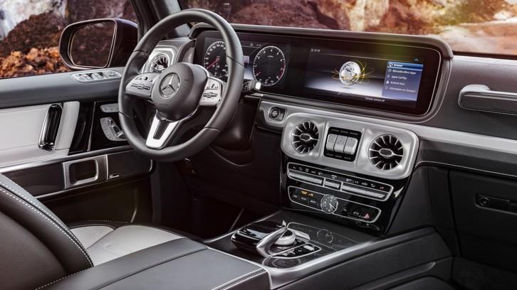Nuova Mercedes Classe G, fuoristrada in business class