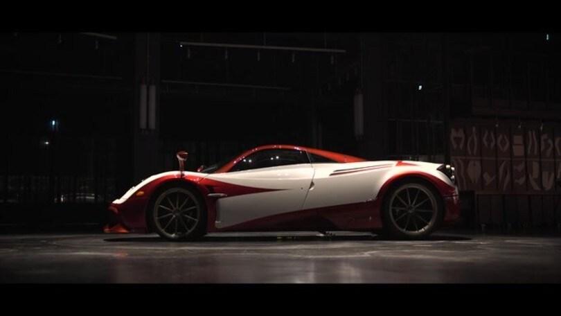 Pagani Huayra, Lampo futurista con Garage Italia Customs