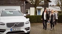Compiti a casa per le famiglie svedesi con la guida autonoma Volvo