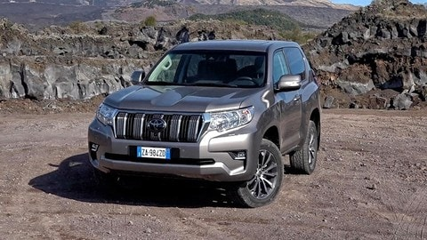 Toyota Land Cruiser 2018 alla conquista dell'Etna - VIDEO PROVA