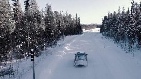 Nuova Mercedes Classe A, i test invernali