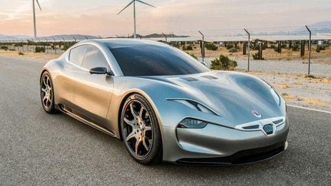 Fisker EMotion, supercar elettrica da 640 km di autonomia