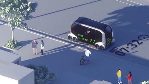 Toyota e-Palette Concept, il futuro della mobilità