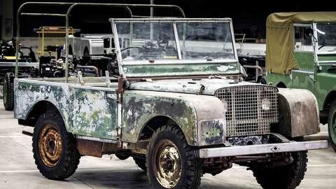 Land Rover, l'antenata ritrovata