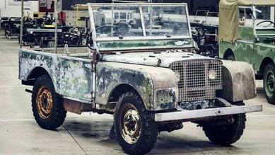 L'antenata ritrovata, Land Rover restaura un raro esemplare del '48