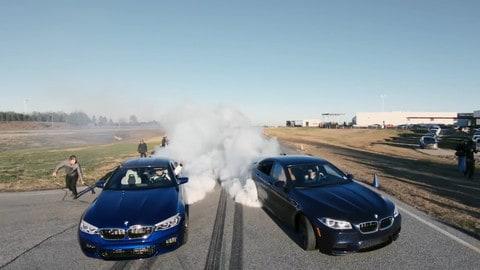 BMW M5 record, conquista il primato di drifting più lungo