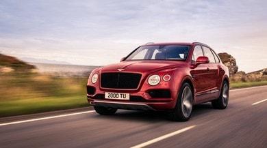 """Bentley Bentayga, la """"entry level"""" con motore V8"""