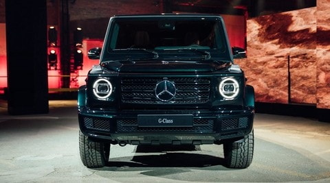 nuova mercedes classe g il terminator dei suv. Black Bedroom Furniture Sets. Home Design Ideas