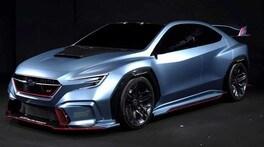 Berlina con gli artigli: Subaru presenta Viziv Performance STI